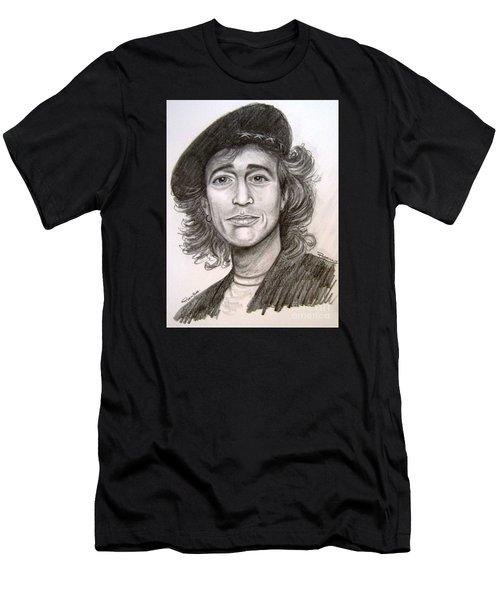 Robin Gibb Men's T-Shirt (Athletic Fit)