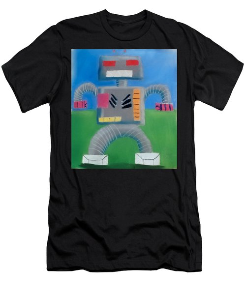 Metallic Men's T-Shirt (Athletic Fit)