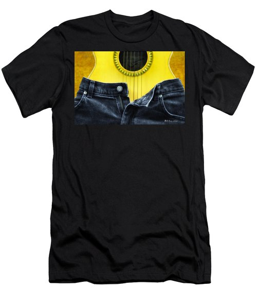 Rock And Roll Woman Men's T-Shirt (Athletic Fit)