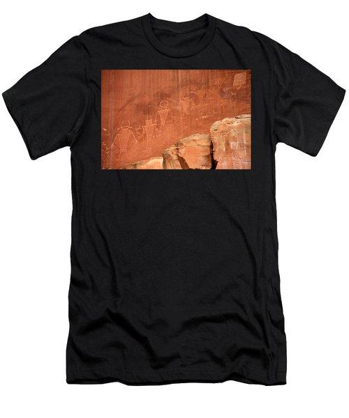 Rock Art Men's T-Shirt (Athletic Fit)