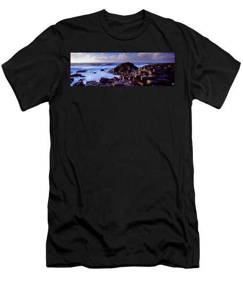Rock Formations On The Coast, Giants Men's T-Shirt (Athletic Fit)