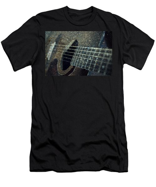 Rock Guitar Men's T-Shirt (Slim Fit) by Photographic Arts And Design Studio