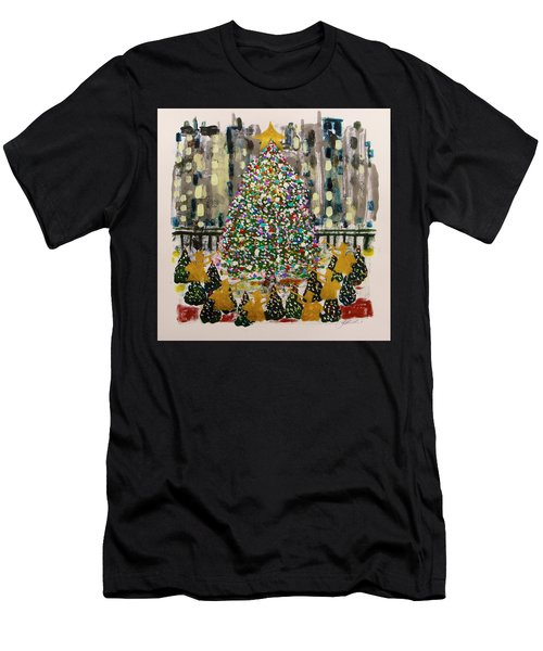 Rockefeller Center Men's T-Shirt (Athletic Fit)
