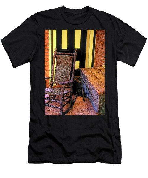 Rocking Chair And Woodbox Men's T-Shirt (Athletic Fit)