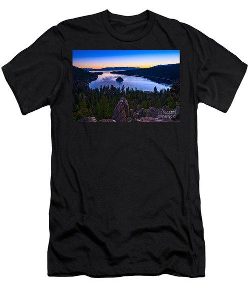 Rocks Over Emerald Bay Men's T-Shirt (Athletic Fit)