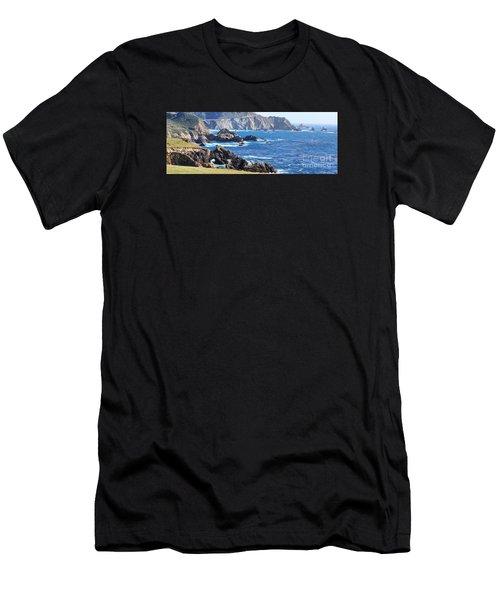 Rocky Creek Bridge Men's T-Shirt (Athletic Fit)