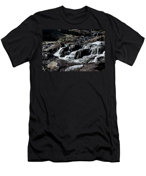 Rocky Falls Men's T-Shirt (Athletic Fit)