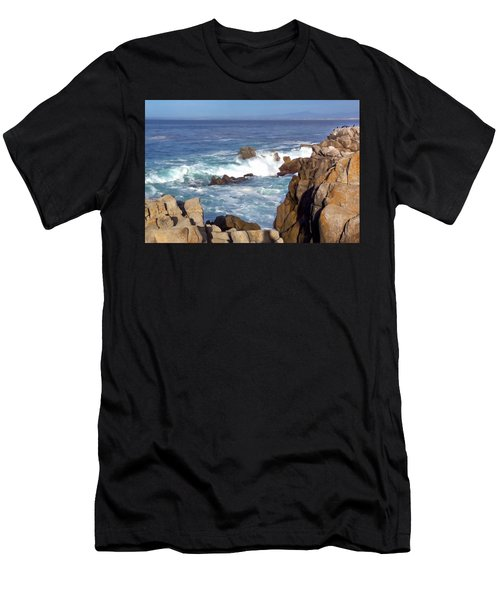 Rocky Monterey Coast Men's T-Shirt (Athletic Fit)