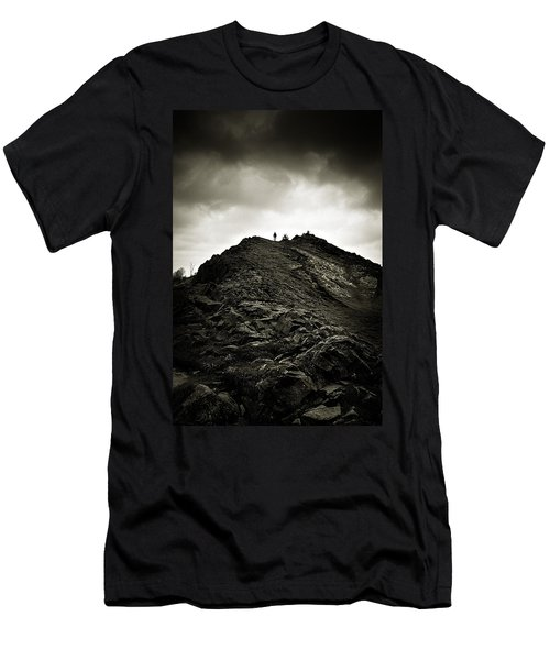 Rocky Pathway To Scotland Men's T-Shirt (Athletic Fit)