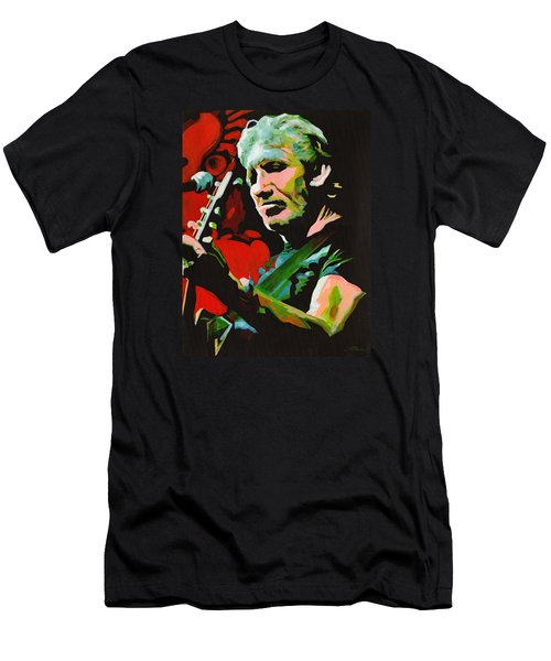 Roger Waters. Breaking The Wall  Men's T-Shirt (Athletic Fit)