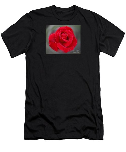 Rolands Rose Men's T-Shirt (Athletic Fit)