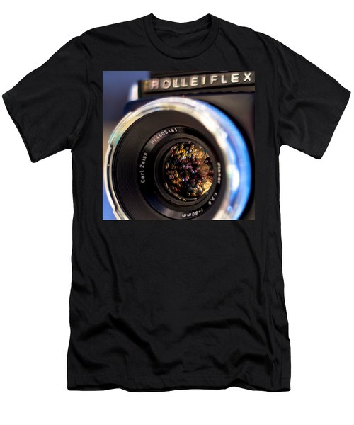 Rollei Champagne Men's T-Shirt (Athletic Fit)