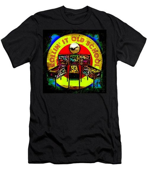 Rollin' It Old School Men's T-Shirt (Athletic Fit)