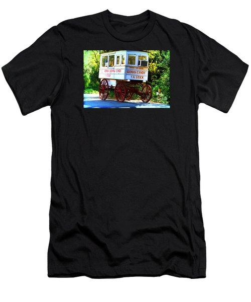 Roman Candy Men's T-Shirt (Slim Fit) by Scott Pellegrin
