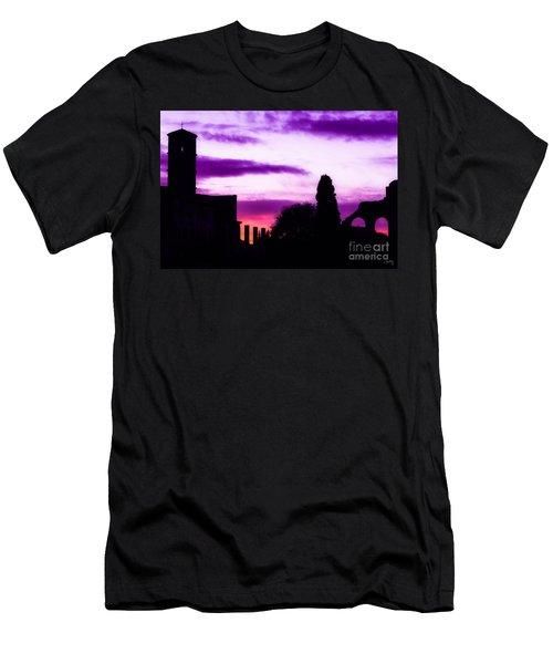 Roman Sunrise Men's T-Shirt (Athletic Fit)