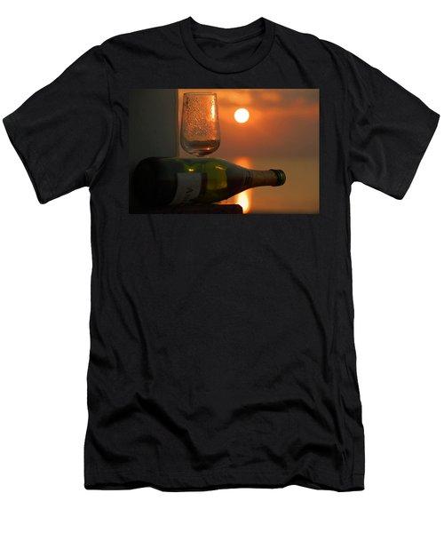 Men's T-Shirt (Slim Fit) featuring the photograph Romance by Leticia Latocki