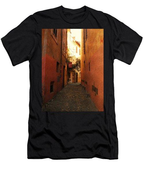 Romano Cartolina Men's T-Shirt (Athletic Fit)