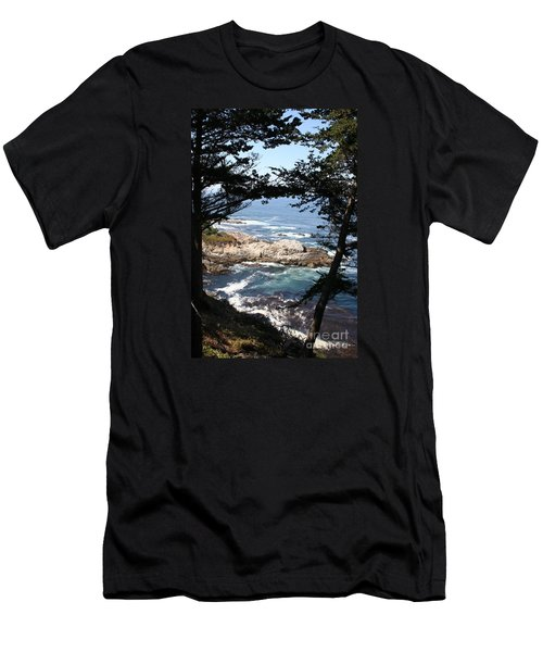Romantic California Coast Men's T-Shirt (Athletic Fit)