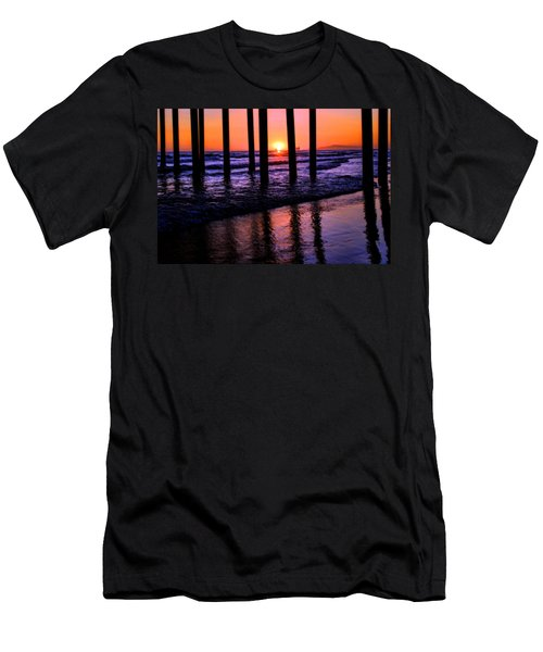 Romantic Stroll Men's T-Shirt (Slim Fit) by Tammy Espino