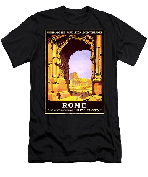 Rome Express Men's T-Shirt (Athletic Fit)