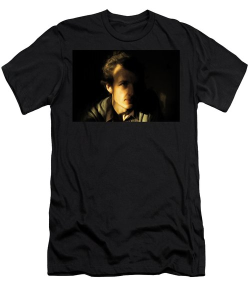 Men's T-Shirt (Slim Fit) featuring the digital art Ron Harpham by Ron Harpham