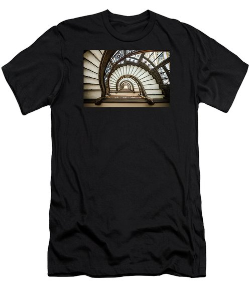 Rookery Building Oriel Staircase Men's T-Shirt (Athletic Fit)