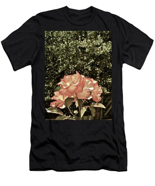 Rose 55 Men's T-Shirt (Slim Fit) by Pamela Cooper