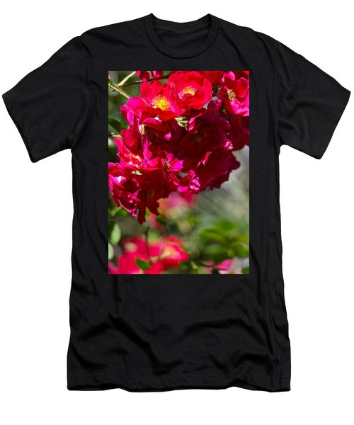 Men's T-Shirt (Slim Fit) featuring the photograph Rose Bouquet by Michele Myers