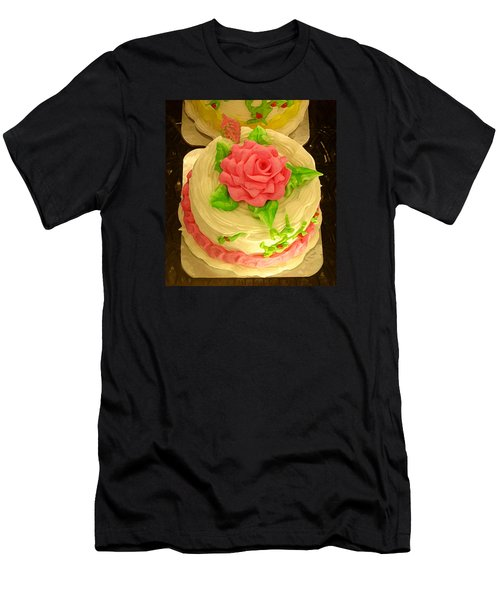 Rose Cakes Men's T-Shirt (Athletic Fit)