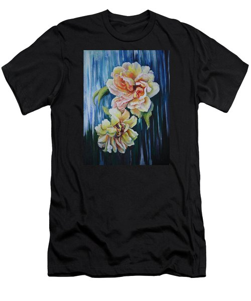Rose Duo Men's T-Shirt (Athletic Fit)