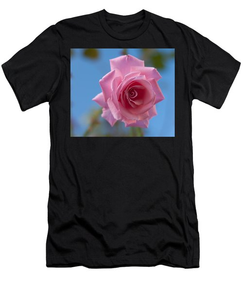 Roses In The Sky Men's T-Shirt (Athletic Fit)