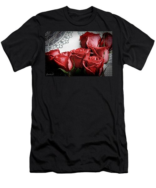Roses To Remember Men's T-Shirt (Athletic Fit)