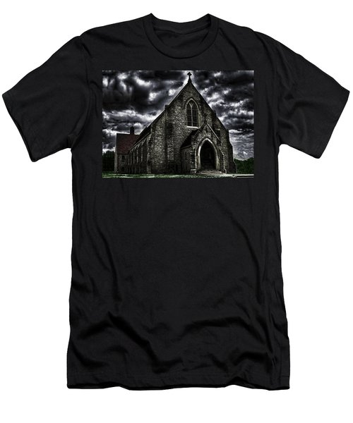 Roseville Ohio Church Men's T-Shirt (Athletic Fit)