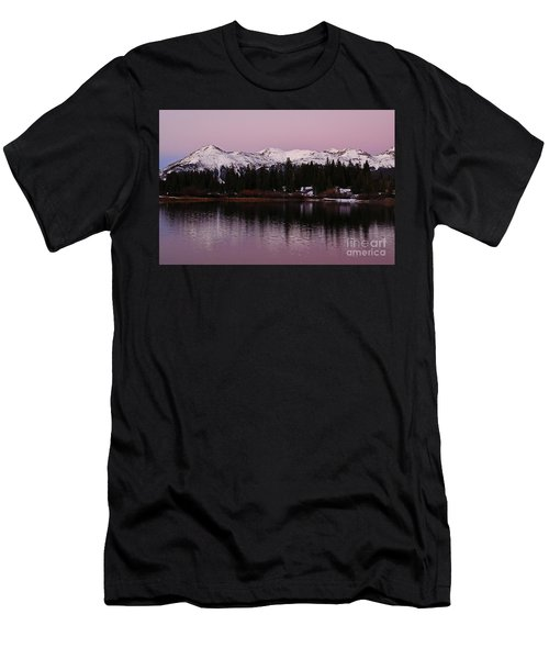Rosey Lake Reflections Men's T-Shirt (Athletic Fit)