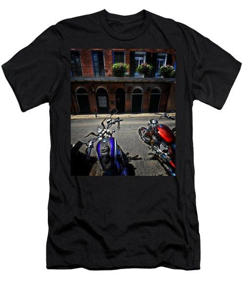 Round N Rounds Men's T-Shirt (Slim Fit) by Robert McCubbin