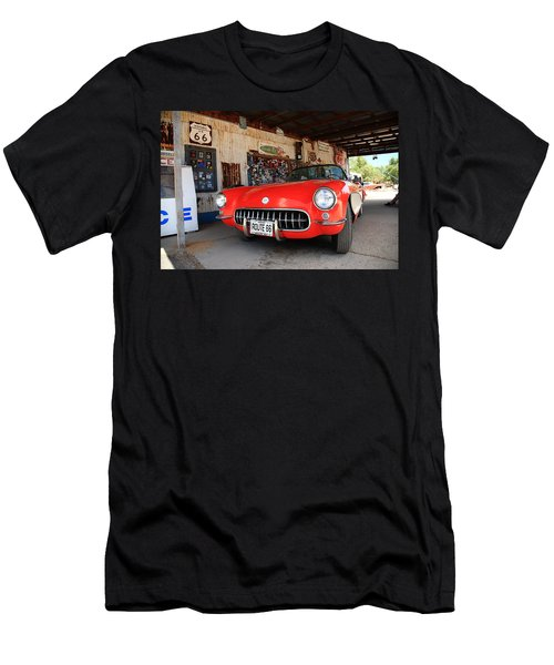 Route 66 Corvette Men's T-Shirt (Athletic Fit)