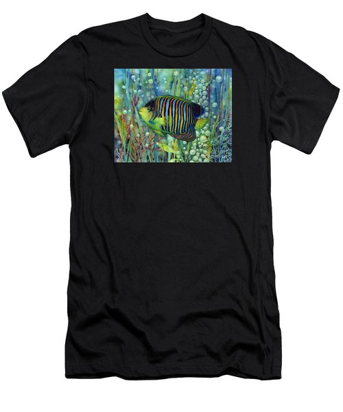 Royal Angelfish Men's T-Shirt (Athletic Fit)