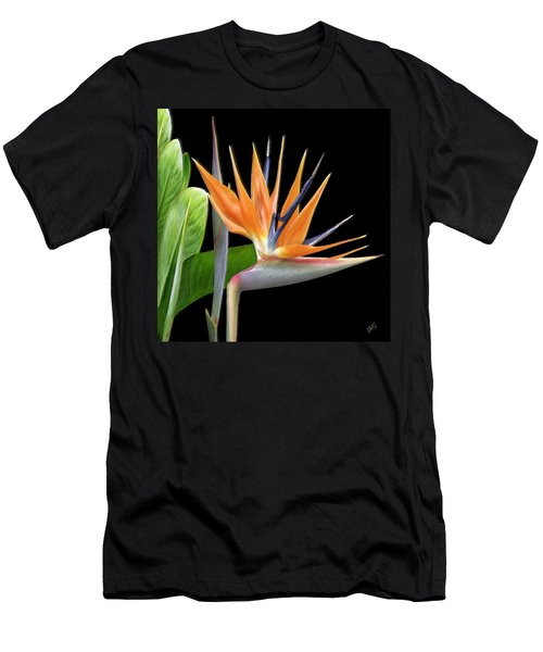 Royal Beauty I - Bird Of Paradise Men's T-Shirt (Athletic Fit)
