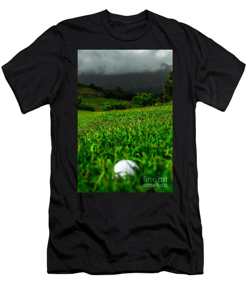 Men's T-Shirt (Slim Fit) featuring the photograph Royal Hawaiian Golf by Angela DeFrias