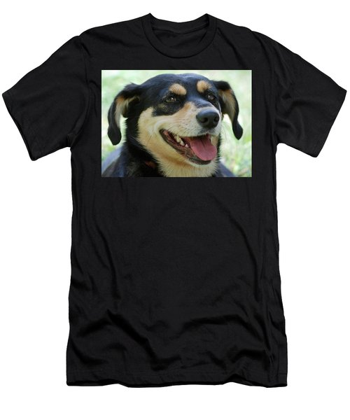 Men's T-Shirt (Slim Fit) featuring the photograph Ruby by Lisa Phillips