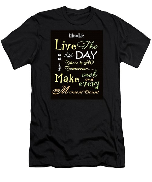 Rules Of Life Men's T-Shirt (Athletic Fit)