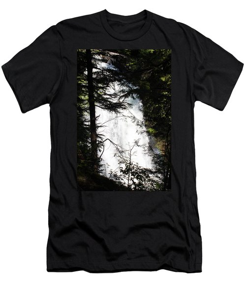 Rushing Through The Trees Men's T-Shirt (Athletic Fit)