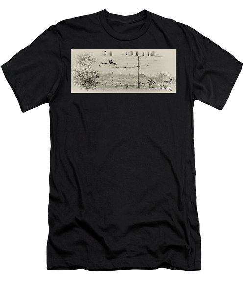 Rust Wind And Time Are Not Kind Men's T-Shirt (Athletic Fit)