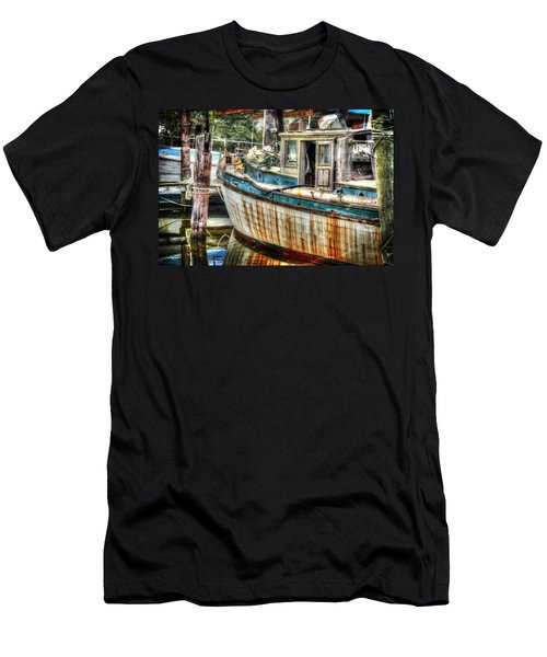 Rusted Wood Men's T-Shirt (Athletic Fit)