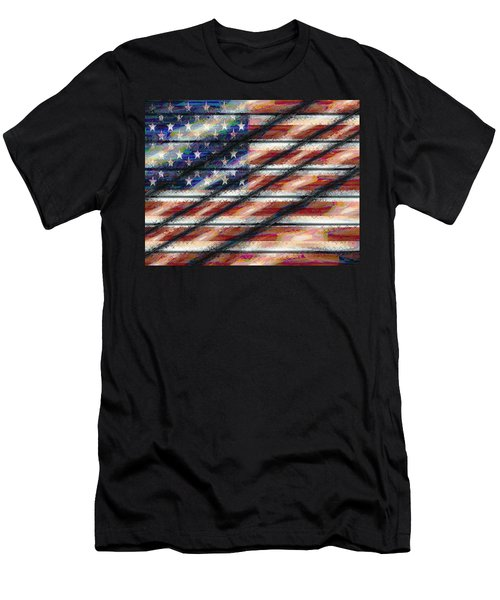 Rustic Usa Men's T-Shirt (Athletic Fit)