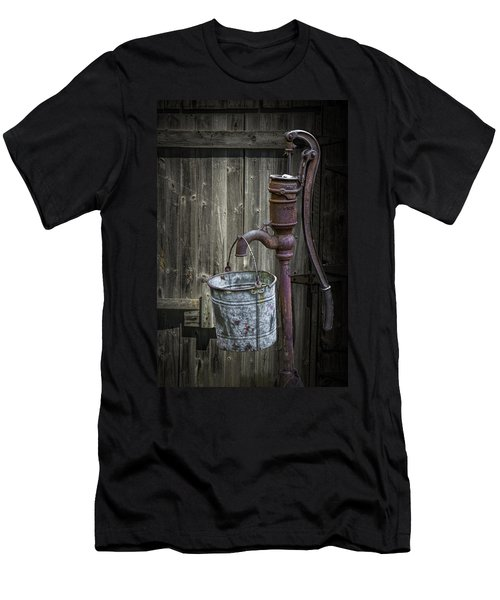 Rusty Hand Water Pump Men's T-Shirt (Athletic Fit)