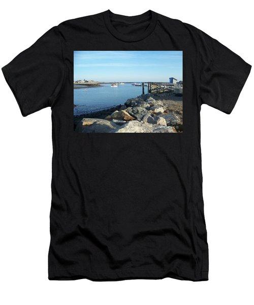 Rye Harbor  Men's T-Shirt (Athletic Fit)