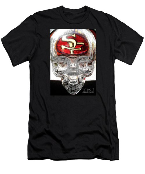 Men's T-Shirt (Slim Fit) featuring the photograph S. F. 49ers by John King