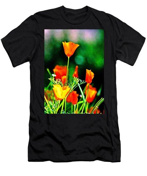 Sacramento Delta Poppies Men's T-Shirt (Athletic Fit)