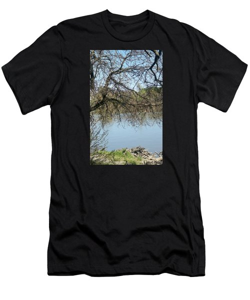 Sacramento River Men's T-Shirt (Athletic Fit)